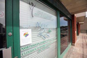 photo of NCLC's front door